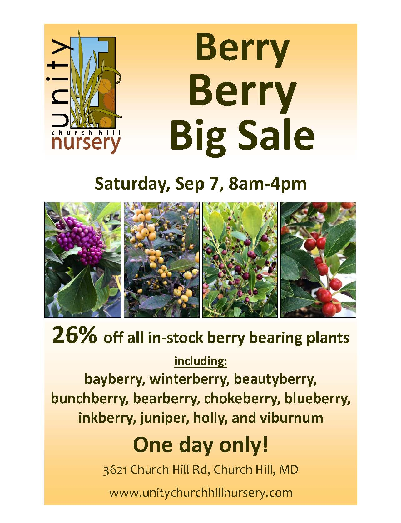 Berry Berry Big Sale 26 Off All Berry Bearing Plants