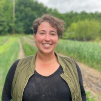 Sarah Appel </br> Food Production Manager